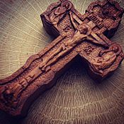 Украшения handmade. Livemaster - original item Pectoral Orthodox cross wood. Handmade.