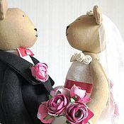 Куклы и игрушки handmade. Livemaster - original item Wedding bears for Marie. Handmade.