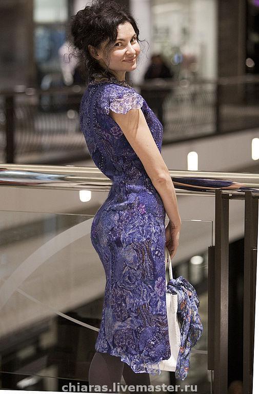 Платья ручной работы. Ярмарка Мастеров - ручная работа. Купить just blue dress. Handmade. Handmade, женственность, соблазн