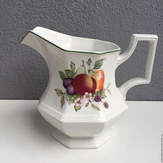 Винтажная посуда. Ярмарка Мастеров - ручная работа. Купить Кувшин, Johnson Brothers. Handmade. Комбинированный, английский стиль, яблоко