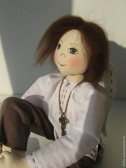 Сказочные персонажи ручной работы. Ярмарка Мастеров - ручная работа. Купить Ангел текстильный. Handmade. Ангел, текстильная кукла