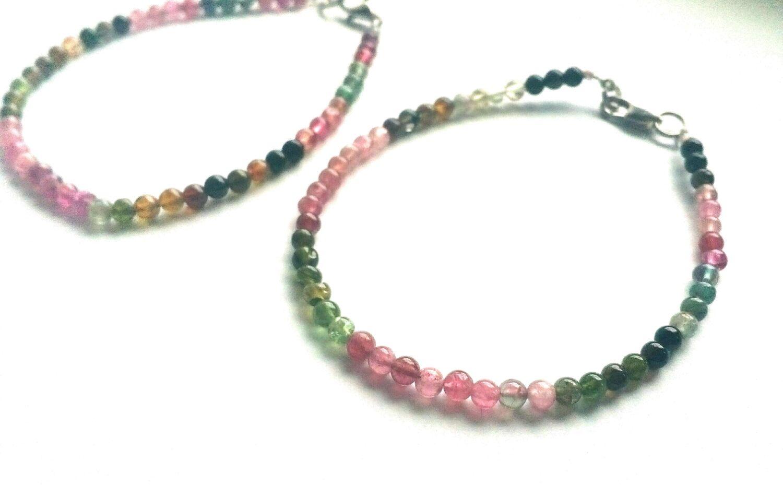 Pulsera de turmalina, fino, Bead bracelet, Omsk,  Фото №1