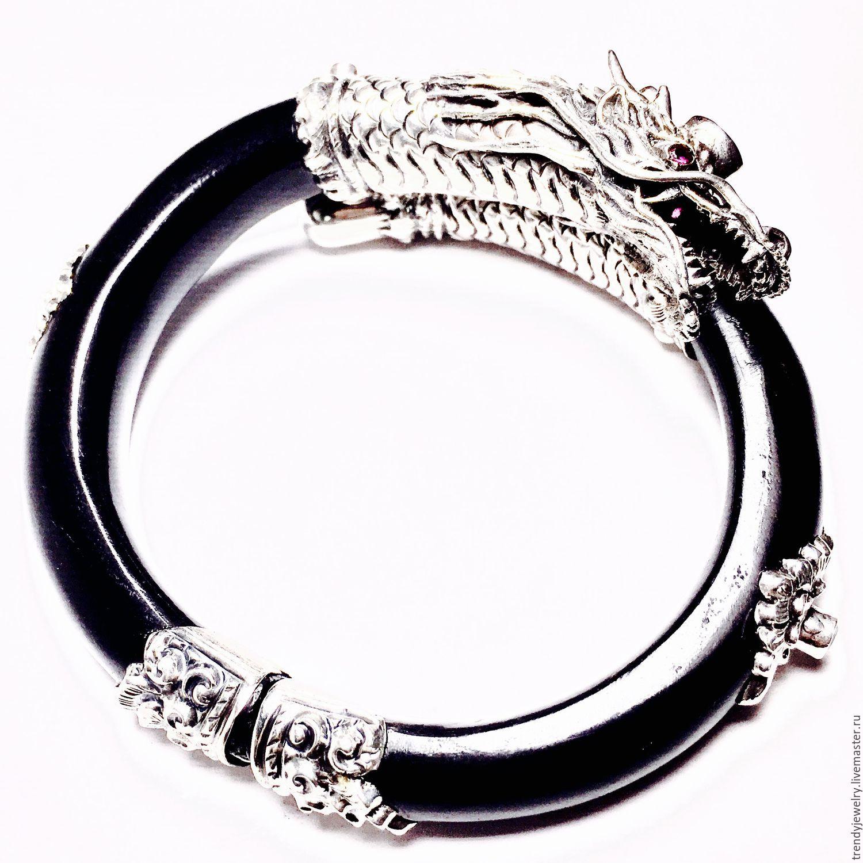 Шикарный браслет с утонченной работой из серебра 925