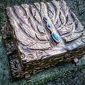 Шкатулки ручной работы. Ярмарка Мастеров - ручная работа Шкатулка для украшений. Handmade.