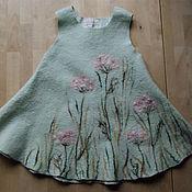"""Работы для детей, ручной работы. Ярмарка Мастеров - ручная работа Платье войлочное детское """"Meadow"""". Handmade."""
