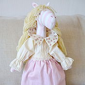 Куклы и игрушки ручной работы. Ярмарка Мастеров - ручная работа Кукла Лошадь Изольда. Handmade.