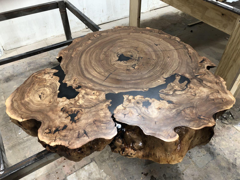 Столы из спилов дерева, Столы, Москва,  Фото №1