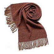 Аксессуары handmade. Livemaster - original item Woven tweed scarf. Handmade.