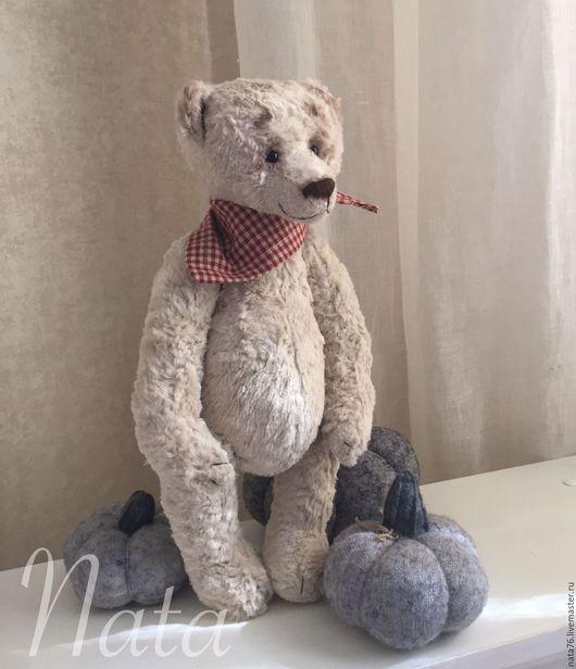 Мишки Тедди ручной работы. Ярмарка Мастеров - ручная работа. Купить Мишка тедди Орсон. Handmade. Белый, частичка души