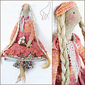 Куклы и игрушки ручной работы. Ярмарка Мастеров - ручная работа Тильда Сюзанна. Handmade.