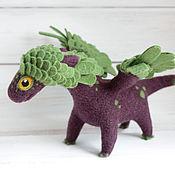 Куклы и игрушки ручной работы. Ярмарка Мастеров - ручная работа Летний цветок, валяный дракон. Handmade.