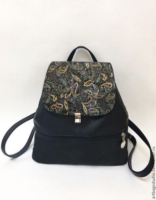 Рюкзак кожаный Artbags_studio