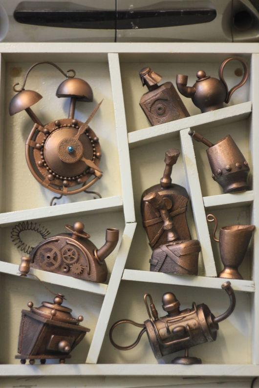 Миниатюрные модели ручной работы. Ярмарка Мастеров - ручная работа. Купить Кухонная утварь 2. Handmade. Керамика ручной работы