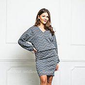 Одежда ручной работы. Ярмарка Мастеров - ручная работа Теплая юбка из многослойного трикотажа. Handmade.