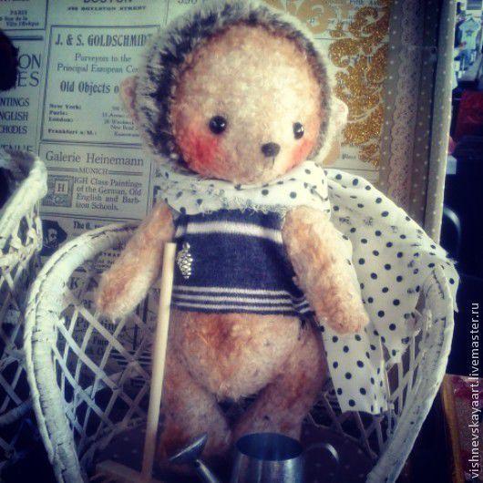 Мишки Тедди ручной работы. Ярмарка Мастеров - ручная работа. Купить Ёжик дачник. Handmade. Коричневый, ежик тедди, подарок