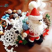 """Одежда ручной работы. Ярмарка Мастеров - ручная работа Слингобусы """"Дед Мороз"""". Handmade."""