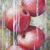 """Картины и панно ручной работы. Ярмарка Мастеров - ручная работа Картина """"Аромат яблок"""". Handmade."""