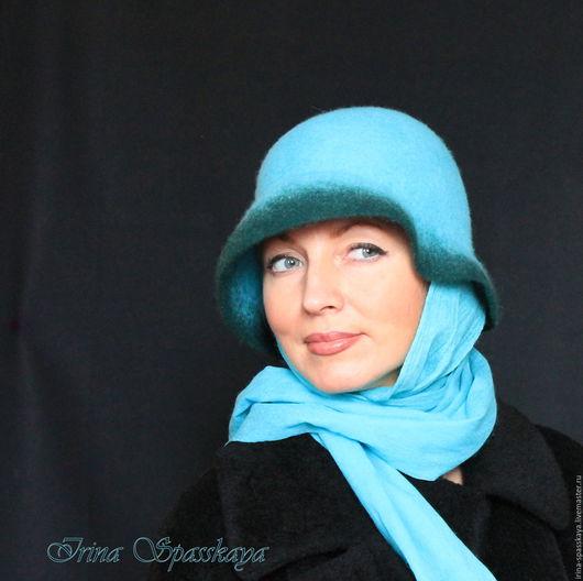 """Шляпы ручной работы. Ярмарка Мастеров - ручная работа. Купить """"Говори со мной..."""" из коллекции """"Сквозь дождь и ветер"""". Handmade."""