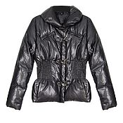 Винтаж handmade. Livemaster - original item Original winter down jacket in black. Handmade.
