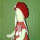 Куклы Тильды ручной работы. Заказать Зайка тильда в красном платье. Елена. Ярмарка Мастеров. Тильда заяц, зайка игрушка