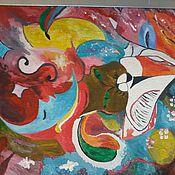 Картины и панно ручной работы. Ярмарка Мастеров - ручная работа картина на холсте.украшение для интерьера. Handmade.