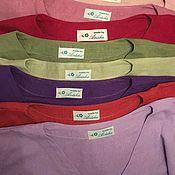 Блузки ручной работы. Ярмарка Мастеров - ручная работа Бохо блуза изо льна 25 цветов. Handmade.