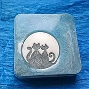 Косметика ручной работы. Ярмарка Мастеров - ручная работа Мыло Кот и кошка. Handmade.