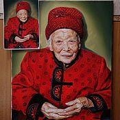 Картины ручной работы. Ярмарка Мастеров - ручная работа Портрет на заказ.. Handmade.