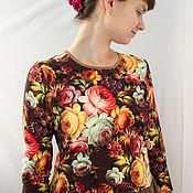 Одежда ручной работы. Ярмарка Мастеров - ручная работа Платье для осенней девушки. Handmade.