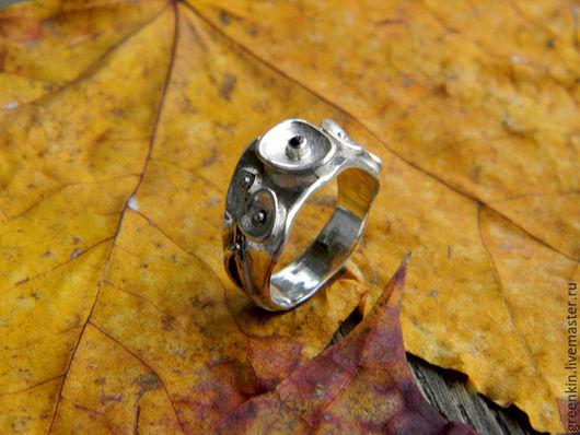 """Кольца ручной работы. Ярмарка Мастеров - ручная работа. Купить кольцо """" AuFlowe"""". Handmade. Серебряный, авторское кольцо"""