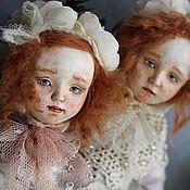 Куклы и игрушки ручной работы. Ярмарка Мастеров - ручная работа Коллекционные куколки Люся и Маруся. Handmade.