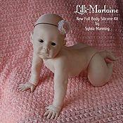 Куклы и игрушки ручной работы. Ярмарка Мастеров - ручная работа Молд Lilli-Marlane от Sylvia Manning. Handmade.