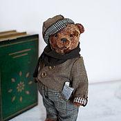 Мишки Тедди ручной работы. Ярмарка Мастеров - ручная работа Джек мишка тедди ручной работы. Handmade.