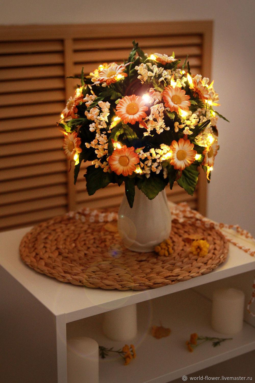 Bouquet lamp 'Chamomile morning', Lamps, Surgut, Фото №1