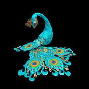 Мягкие игрушки ручной работы. Ярмарка Мастеров - ручная работа Птица счастья (Павлин). Handmade.