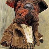 Куклы и игрушки ручной работы. Ярмарка Мастеров - ручная работа Английский бульдог  Вильям. Handmade.