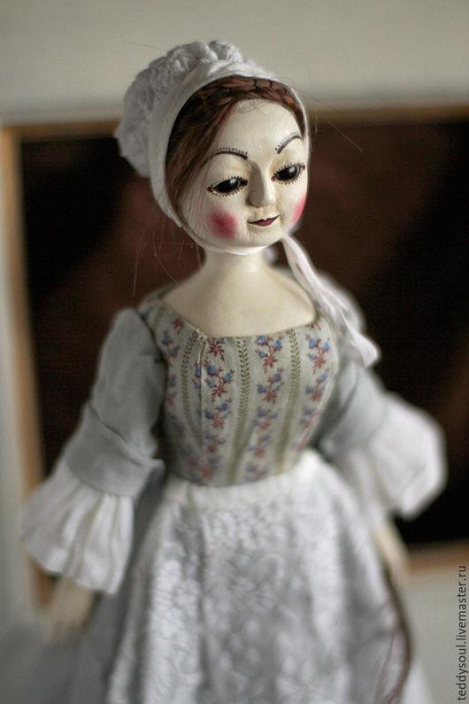 Коллекционные куклы ручной работы. Ярмарка Мастеров - ручная работа. Купить Марта I, деревянная кукла времен Королевы Анны. Handmade.