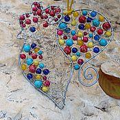 """Для дома и интерьера ручной работы. Ярмарка Мастеров - ручная работа Интерьерное панно """"Петушок"""". Handmade."""