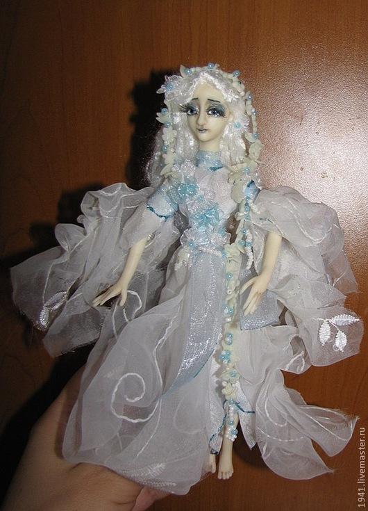 Коллекционные куклы ручной работы. Ярмарка Мастеров - ручная работа. Купить Офелия. Handmade. Белый, интерьерная кукла