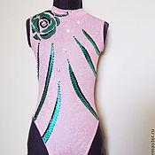 Одежда ручной работы. Ярмарка Мастеров - ручная работа Купальник для синхронного плавания. Handmade.