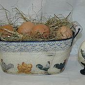 """Подарки к праздникам ручной работы. Ярмарка Мастеров - ручная работа Короб-кашпо """"Easter"""". Handmade."""