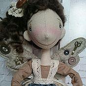 Куклы и игрушки ручной работы. Ярмарка Мастеров - ручная работа Интерьерная текстильная кукла Фейка - Швейка. Handmade.