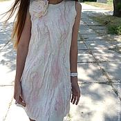 """Одежда ручной работы. Ярмарка Мастеров - ручная работа валяное платье """"Lover of happyness"""". Handmade."""