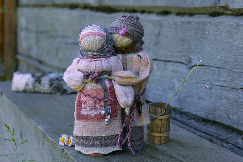 Неразлучники Куклы обереги Маргаритки, Народная кукла, Новокузнецк,  Фото №1