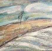 """Картины и панно ручной работы. Ярмарка Мастеров - ручная работа Картина маслом """"Ветер"""". Handmade."""