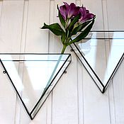 Цветы и флористика handmade. Livemaster - original item the floriana. Geometric hanging wall Floriana prism. Handmade.