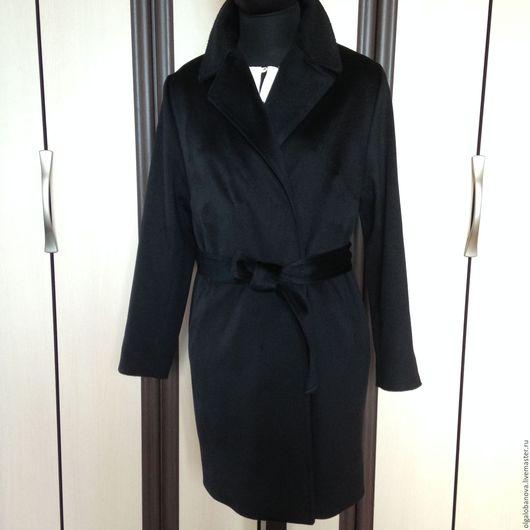 Верхняя одежда ручной работы. Ярмарка Мастеров - ручная работа. Купить Пальто. Handmade. Черный, минимализм, шерсть