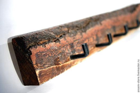 Прихожая ручной работы. Ярмарка Мастеров - ручная работа. Купить Ключница вешалка из дерева ЭКО ЛОФТ. Ключница ручной работы. Handmade.