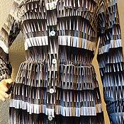 Одежда ручной работы. Ярмарка Мастеров - ручная работа Платье- рубашка с длинным рукавом. Handmade.