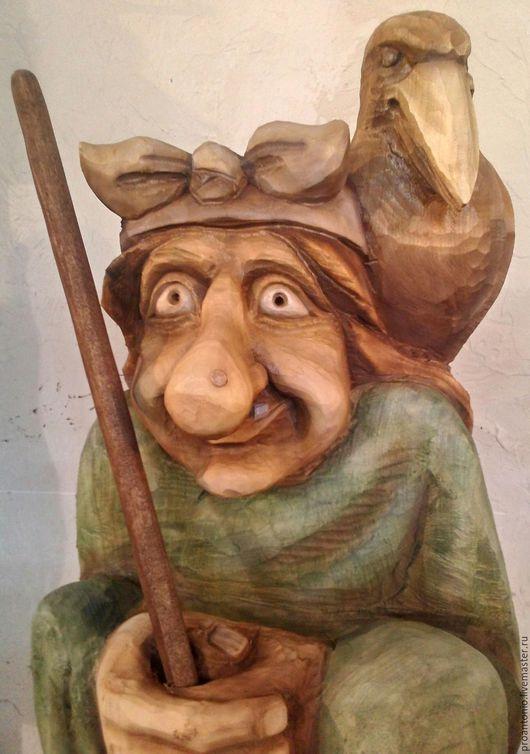 Экстерьер и дача ручной работы. Ярмарка Мастеров - ручная работа. Купить Парковая скульптура из дерева. Handmade. Парковая скульптура, водяной